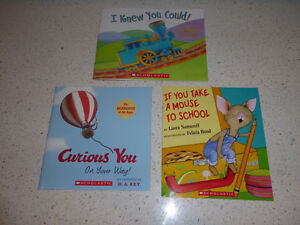 3 NEW kids' books  ($ 5 for all)