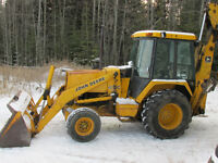 Backhoe Owner/Operator For Excavation Contract Work