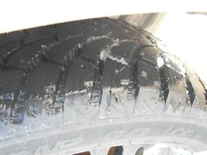 4 225 50 17 inch antares grip 60 ice  snow tires 400 kms on them