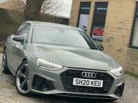 2020 Audi A4 2.0 TFSI 40 Black Edition S Tronic (s/s) 4dr Saloon Petrol Automati