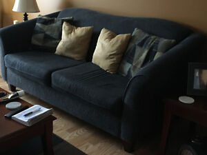Living room couch and matching chair available