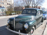 PLYMOUTH ROADKING 1940