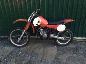 1981 Honda cr125