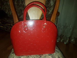 Never used LV Red bag