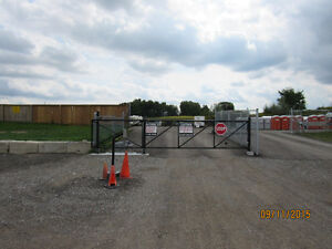SECURE outside RV and Trailer storage Kitchener / Waterloo Kitchener Area image 1