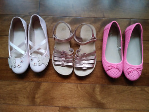 Girls Spring and Summer Shoes Lot- size 1