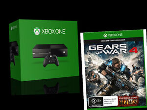 Xbox One + Gears Of Wars 4