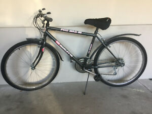 18 speed men's bicycle in great shape.