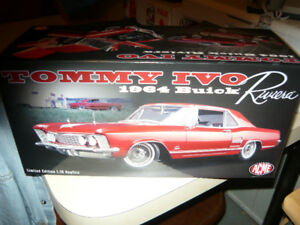 """""""Still Available""""  Tommy Ivo 1:18 die cast 1964 Buick Riviera"""