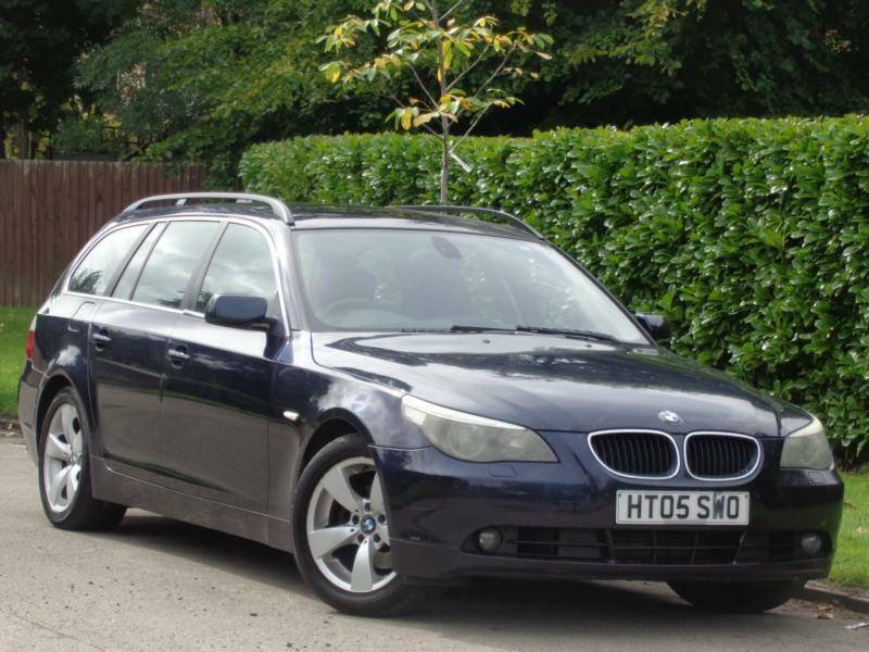 2005 BMW 525 2.5TD AUTO TOURING***£6000 WORTH OF INVOICES + MUST VIEW***