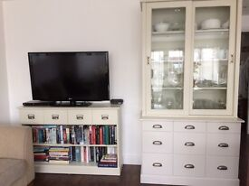 Dresser and Bookcase