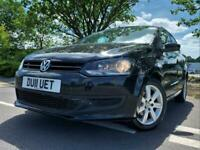 2011 11 VOLKSWAGEN POLO 1.2 SE 70 PS 5 DOOR WITH A/C ONLY 57000 MILES !!!