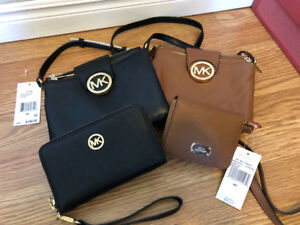 MICHAEL KORS PURSES AND MATCHING WALLETS!!!