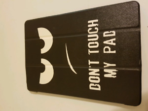 IPad case-don't touch my pad