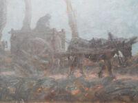Rodolphe Duguay huile sur toile tableau oeuvre peinture