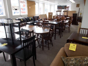 Table and chairs sets. Large variety.