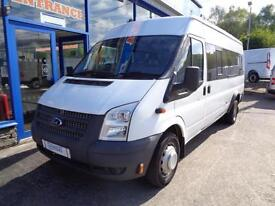 2012 FORD TRANSIT 135BHP T430 17 SEATER BUS AWAITING PREPARATION - 1 OWNER MINIB