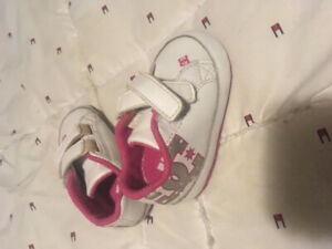 Baby size 1 DC soft sole shoes