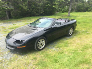 For sale 1995 chev camaro convertible mint...
