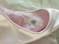 Pearce Fionda age 6 bridesmaids dress in pink pearl