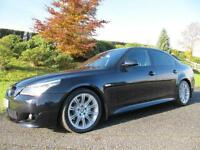 SOLD SOLD 2008 BMW 520d M-SPORT **LCI MODEL **FULL BLACK LEATHER**