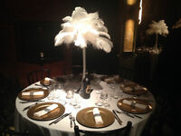 WEDDING PLANNING SERVICES*** GREAT GATSBY DECOR FOR RENT