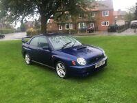 2002 Subaru Impreza wrx turbo 90k £2200