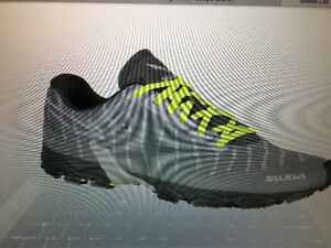 New Salewa trail Running shoes taken at CGC