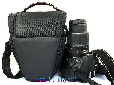 DSLR Camera Bag Case Black for Canon EOS 650D 70D 600D 550D