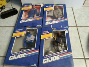 GI JOE HALL of FAME SET of FOUR (1992) SOLDIERS MILITARY