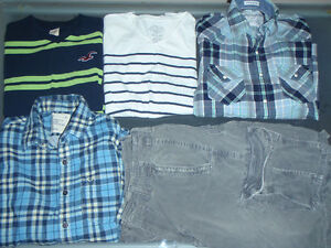 American Eagle & Hollister Mens Lot of 10 Size Small