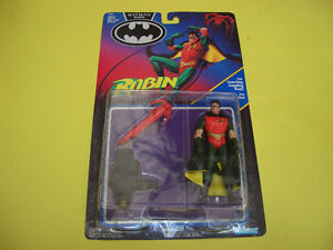 BATMAN RETURNS ROBIN JET FOIL CYCLE, ROBIN AND 2 LOOSE FIGURES London Ontario image 3
