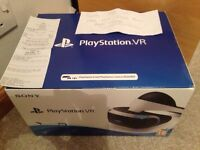 Sony PlayStation VR, new, sealed, receipt.