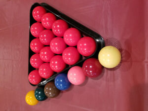 Snooker ball set Belgian grade