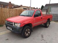 1999 Toyota Hilux pickup 4x4 2.4 diesel single cab
