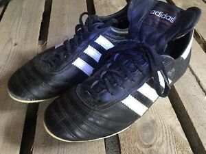 Full grain leather soccer cleats