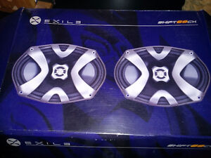 Exile 6x9 speakers - Brand new in box
