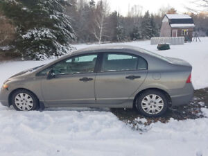 2007 honda  civic 5 speed