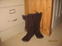 Suede/Leather Rocket Dog Boots