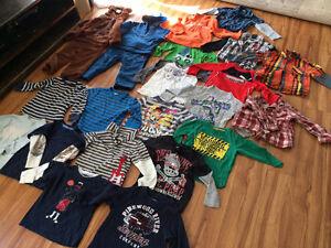 Lot vêtements garcon 24 mois 2 ans : 47 morceaux