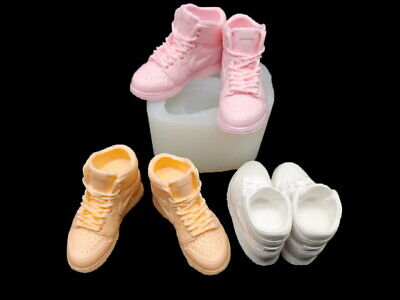Sneakers Air Large, Silicone Mold Polymer Clay Jewelry Soap Resin Wax
