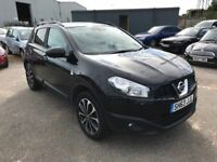 Nissan Qashqai 1.6 360, 1 Former Keeper, Panoramic Glass Roof, Sat Nav, Leather, 360 Camera Warranty