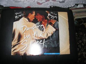 DAVID BOWIE+MICK JAGGER-DANCING IN THE STREET LP