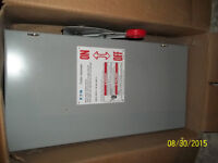 Cutler Hammer Sub Pannel and CH Heavy duty Safety switch