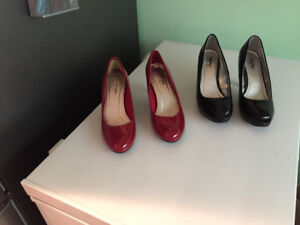 Patent leather shoes. $20 each. Wore a few times