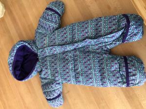 Habit d'hiver bébé fille Columbia 0-3 mois