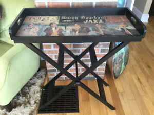 Folding occasional table,