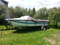 Star craft boat and trailer package