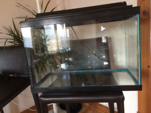 20 gallon aquarium & accessories package
