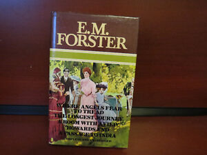 E M Forster 4 Novels Complete and Unabridged 1978 hardcover